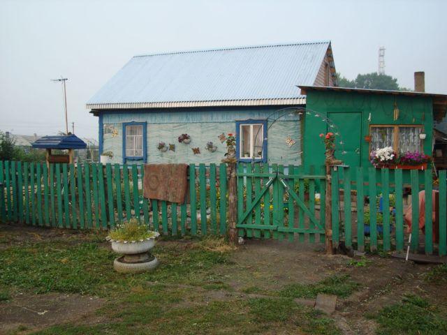 украшенный дом в деревне (Размер: Среднее) - Кемеровская область - Галерея - Клуб самостоятельных путешественников - Русский Bac